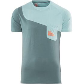 La Sportiva Climbique - T-shirt manches courtes Homme - gris/bleu
